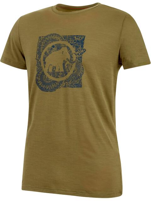 Mammut Alnasca - Camiseta manga corta Hombre - Oliva